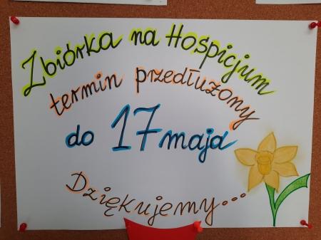 Zbiórka dla hospicjum