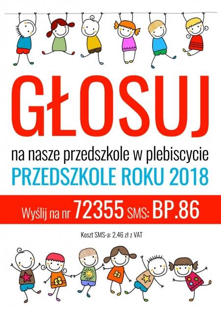 PRZEDSZKOLE ROKU 2018 Gdynia ostatnie dni głosowania