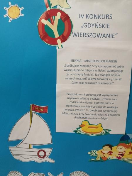 IV Konkurs Gdyńskie Wierszowanie